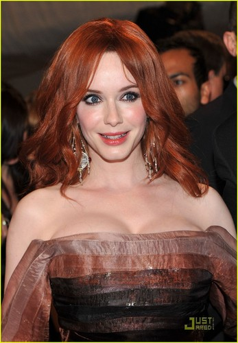 Christina Hendricks - MET Ball 2011