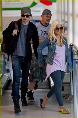 Christina & Matt @ LAX