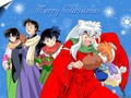 Christmas with Inuyasha - inuyasha wallpaper