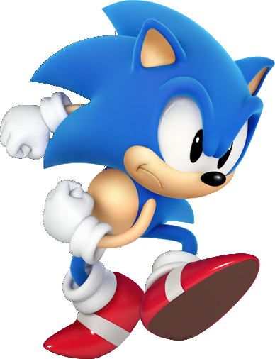 Sonic the Hedgehog Classic Sonic in 3D!!!!