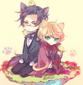 Claude and Alois kittens