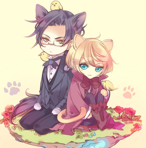 Claude and Alois 子猫