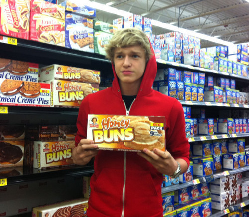 """Cody and his """"Honey Buns"""""""