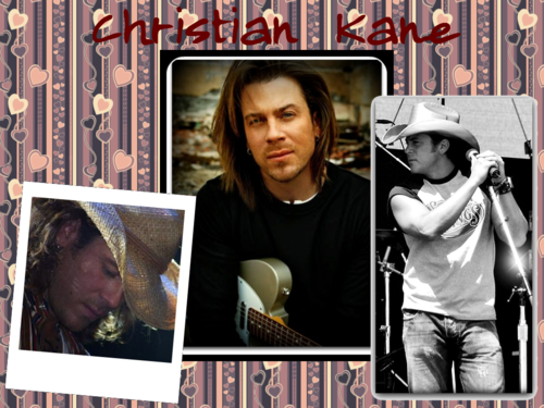 Christian Kane wallpaper possibly with a sign and a newspaper called Country Heart