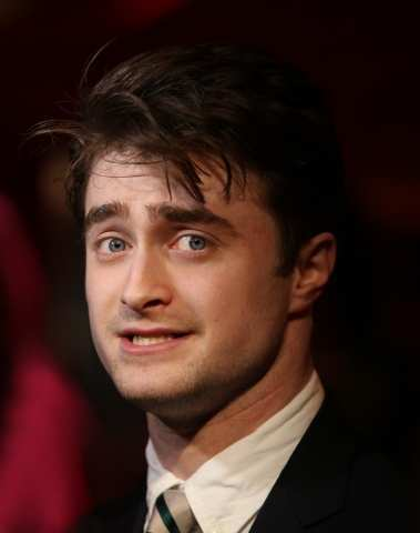 Dan Radcliffe - drama escrivaninha, mesa awards
