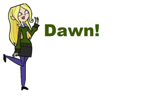Dawn From TDROTI - total-drama-island Photo