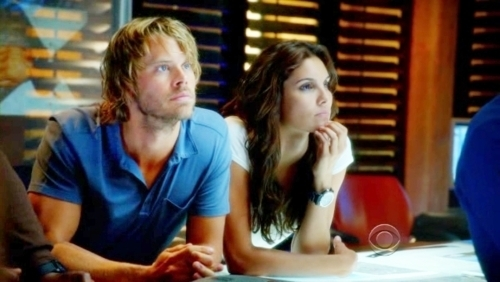 NCIS: Los Angeles fond d'écran possibly with a sign and a portrait entitled Deeks and Kensi