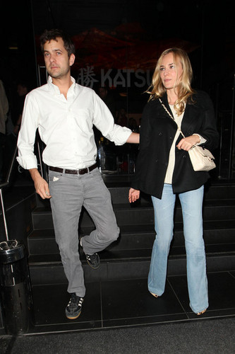 Diane Kruger and Joshua Jackson at Katsuya