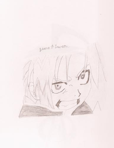 Edward drawing