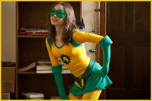 "Ellen as Boltie in ""Super"" - ellen-page Photo"