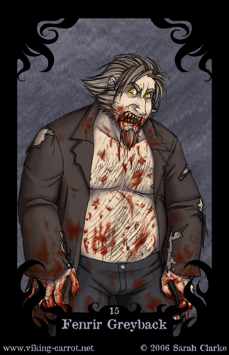 Fenrir Greyback - Death Eater card