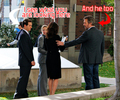 Funny Behind the scene S07 Episode 20: House/Cuddy - hugh-and-lisa photo