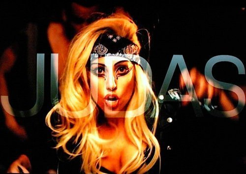 lady gaga judas cover art. Gaga - Judas
