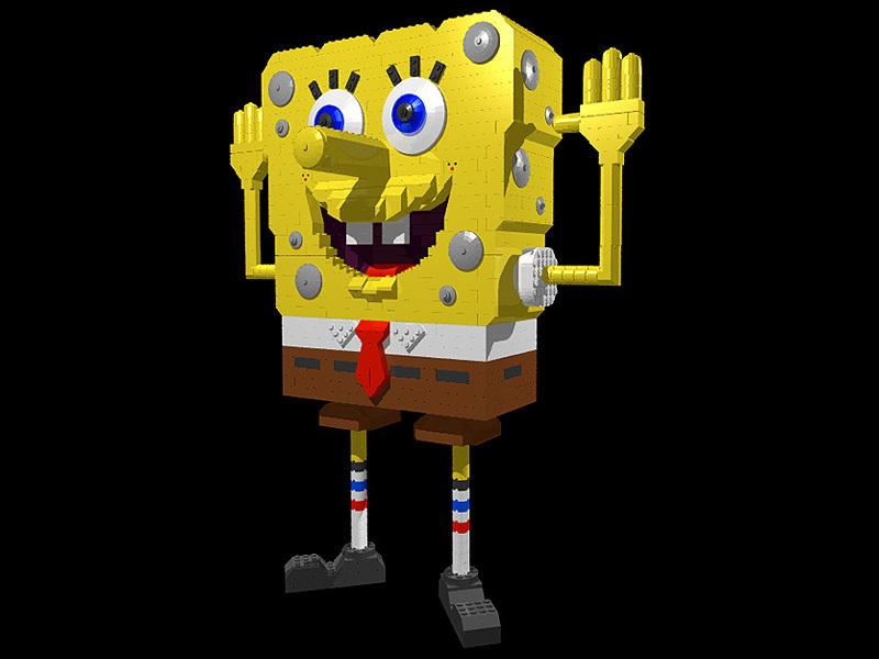 Lego Spongebob Squarepants Wallpaper Entitled Get D Spongebob
