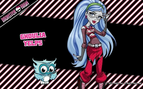 Ghoulia Yelps wallpaper