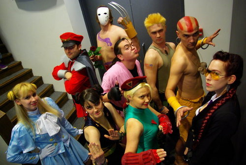 Group foto Cosplay :D