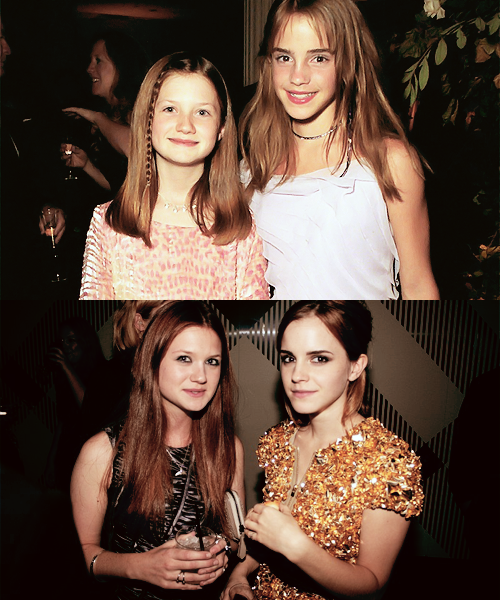 Emma & Bonnie ----> Before & After :))