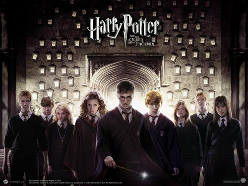 HP the order phoenix and the goblet of brand