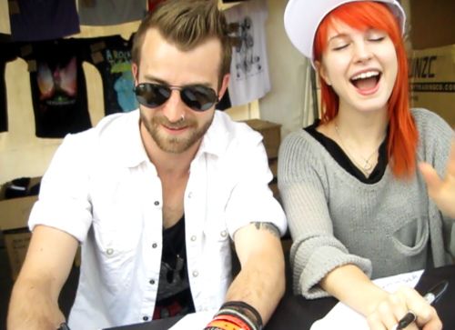 Hayley And Jerm At Bamboozle