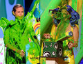 Heidi Klum VS Katy Perry (who had the best sliming) - nickelodeon-kids-choice-awards photo