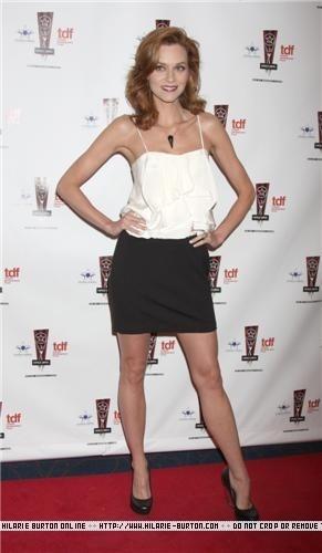 Hilarie burton AtThe 26th Annual Lucille Lortel Awards