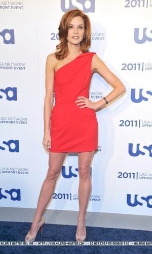 Hilarie  Burton2011 USA Upfront