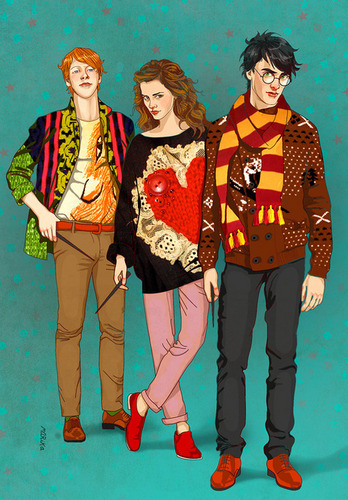 Hipster Harry Potter