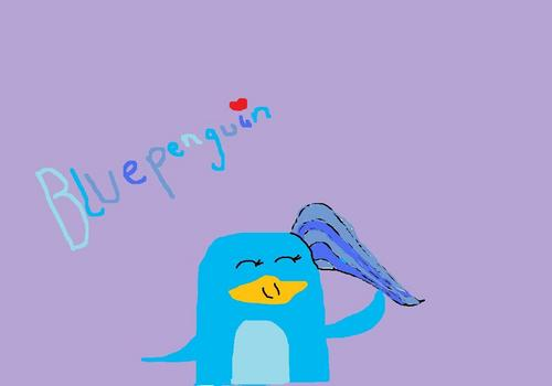 I drew Bluepenguin!