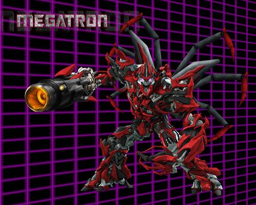 Transformers karatasi la kupamba ukuta entitled Inferno Megatron