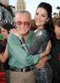 Jaimie and Stan Lee at