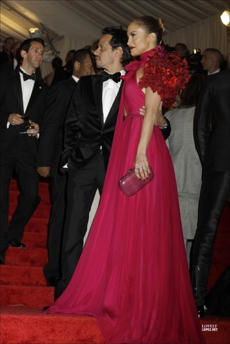 Jennifer - Costume Institute Gala At The Metropolitan Museum Of Art - 02 May 2011