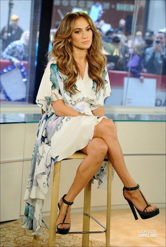 Jennifer - US Talk Shows - Today show - 2 May 2011