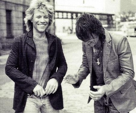 Jon Bon Jovi and Richie Sambora