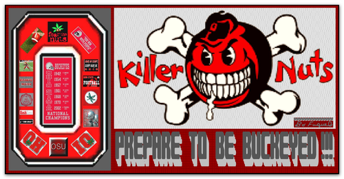 Ohio State Buckeyes fondo de pantalla entitled KILLER NUTS