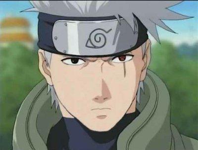 Kakashi whitout his mask <3