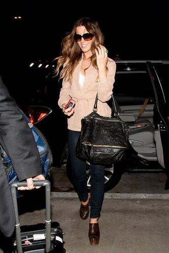 Kate Beckinsale at LAX