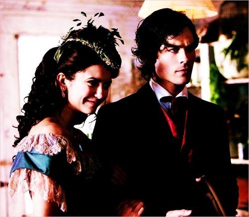Katherine Pierce & Damon Salvatore