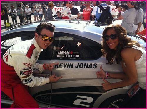 Kevin Jonas Toyota Celebrity Race تصاویر