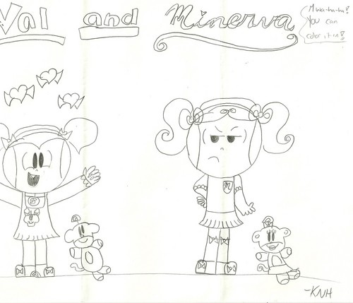Codename: Kids Next Door wallpaper called Kiki Drawings