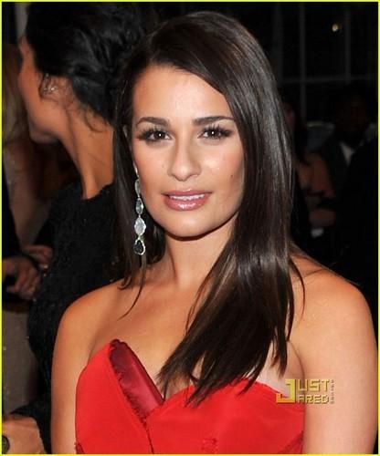 Lea Michele - MET Ball 2011