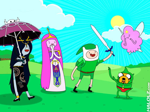 Legend of Zelda/Adventure Time Corssover