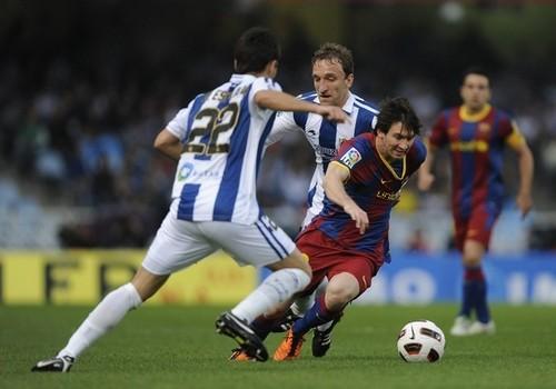 Lionel Messi (Real Sociedad - FC Barcelona)