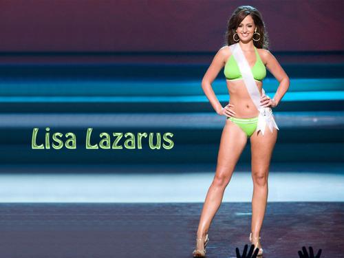 Lisa Lazarus is ex girlfriend Piqué and Miss Great Britian 2008