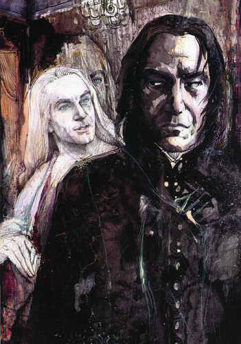 Lucius - Snape: An invitation - severus-and-lucius-beneath-the-masks Fan Art