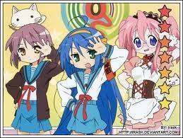 Lucky ngôi sao Crossover with Haruhi Suzumiya
