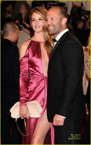 MET Ball 2011 with Jason Statham!