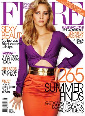 Magazine scans: Flare - June 2011
