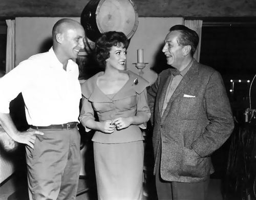 Maureen & Walt Дисней