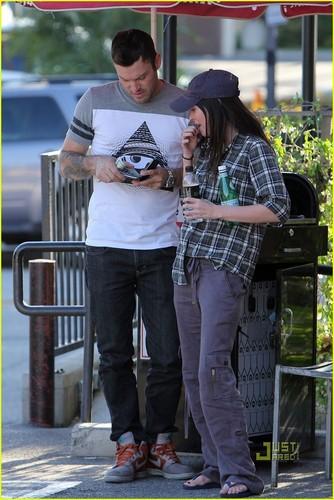 Megan soro & Brian Austin Green: Lucifers in Los Feliz!