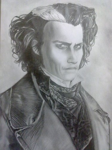My Another Sweeney Todd Sketch ^_^